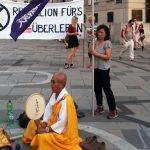 Hiroshima Gedenken am Stephansplatz